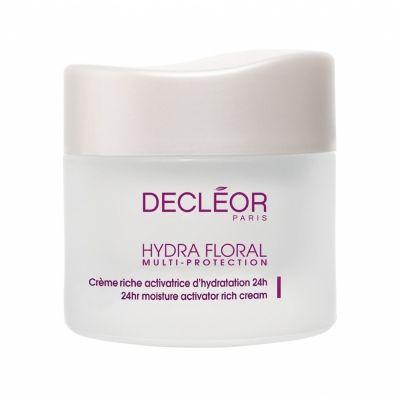 Hydra Floral multi protection Crème riche activatrice d'hydration 24h